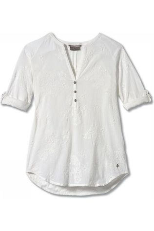 Royal Robbins Shirt Oasis Tunic II 3/4 Sleeve white