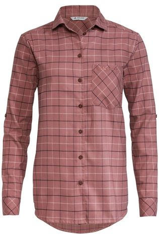 Vaude Shirt Farsund II Dark Pink/Ass. Geometric