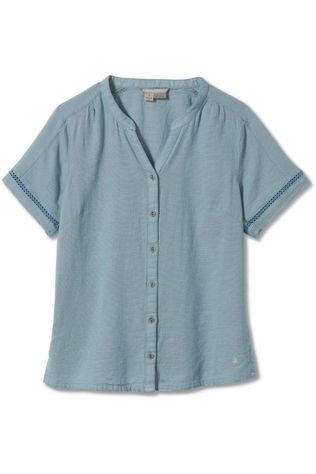 Royal Robbins Shirt Cool Mesh Eco Ss light blue