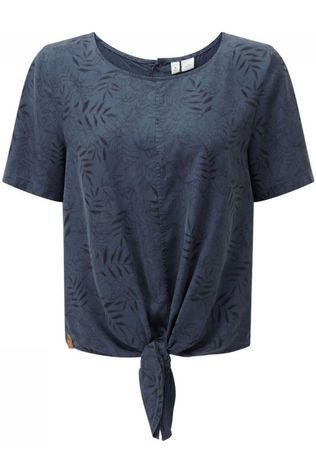 Tentree Shirt Roche dark blue/Assortment Flower