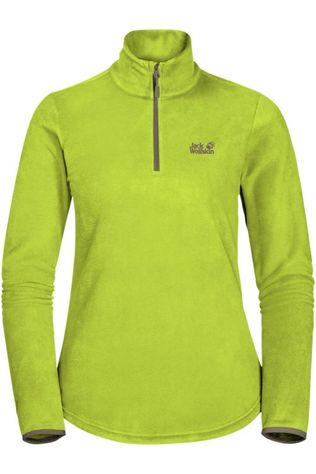 Jack Wolfskin Fleece Echo Eco Hz Limoen Groen