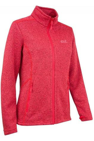 Jack Wolfskin Polaire Chelan Rouge Clair