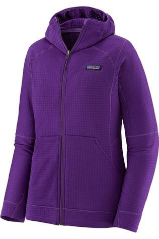 Patagonia Polaire R1 Full-Zip Hoody Pourpre