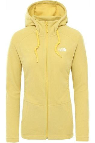 The North Face Fleece Mezzaluna yellow