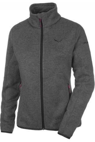 Salewa Fleece Rocca Full Zip dark grey