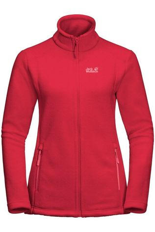 Jack Wolfskin Fleece Midnight Moon Rood
