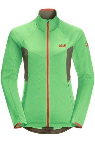 Jack Wolfskin Fleece Gradient Groen