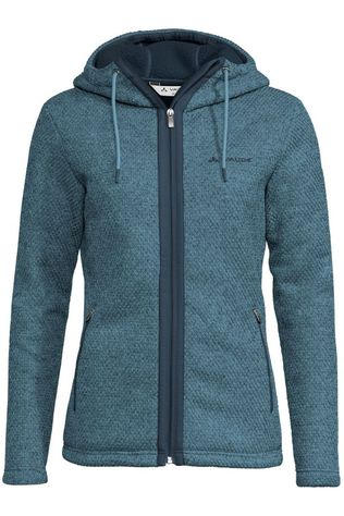 Vaude Fleece Skomer Hooded Jacket Middenblauw