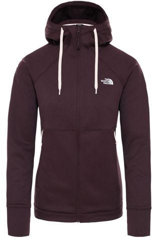The North Face Polaire Hikesteller Mid Fz Hoody Pourpre Foncé