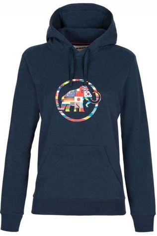 Mammut Pullover Nations Ml Hoody Dark Blue/Assorted / Mixed