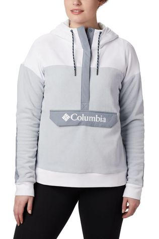 Columbia PULLOVER COLU EXPLORATION FLEECE light grey/white