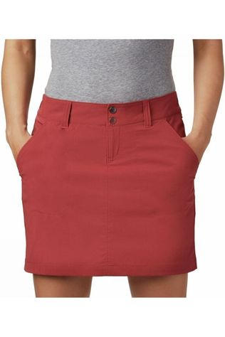 Columbia Skort Saturday Trail dark red