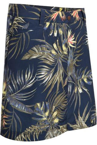 Jack Wolfskin Skort Sonora Tropical dark blue/Assortment Flower