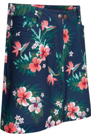 Jack Wolfskin Skort Sonora Tropical Marine/Assortment Flower