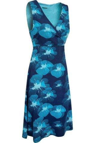 Ayacucho Dress Flora Marine/Assortment Flower