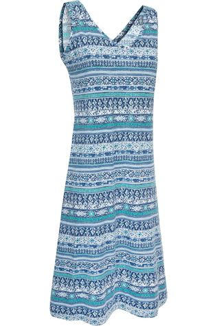 Sherpa Dress Padma Midi Turquoise/Assortment