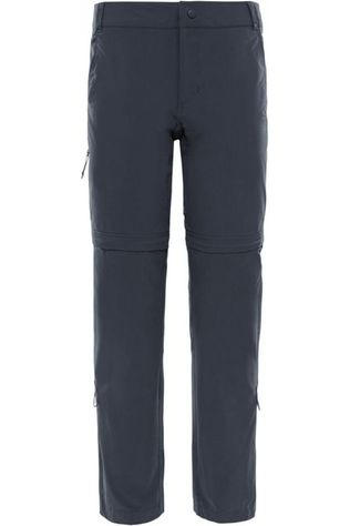 The North Face Trousers Broek Exploration Convertible Reg dark grey