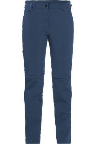 Jack Wolfskin Pantalon Activate Light Zip-Off Bleu Foncé