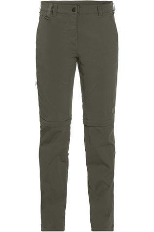 Jack Wolfskin Pantalon Activate Light Zip-Off Kaki Moyen