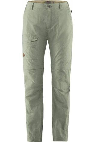 Fjällräven Trousers Traveller's MT Zip-Off light green