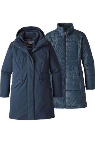 Patagonia Coat Vosque 3In1 Parka Navy Blue