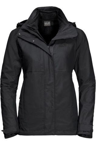 Jack Wolfskin Manteau Echo Pass 3In1 Noir