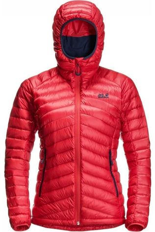 Jack Wolfskin Doudoune Mountain Down Rouge