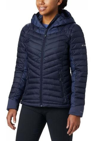 Columbia Manteau Windgates Hooded Bleu Foncé