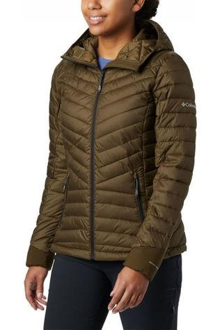 Columbia Manteau Windgates Hooded Kaki Moyen