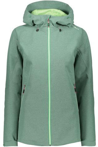 CMP Coat Outdoor Jacquard Wp mid green