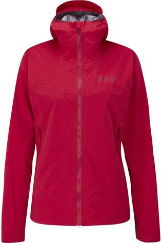 Rab Coat Kinetic 2.0 Wms mid red