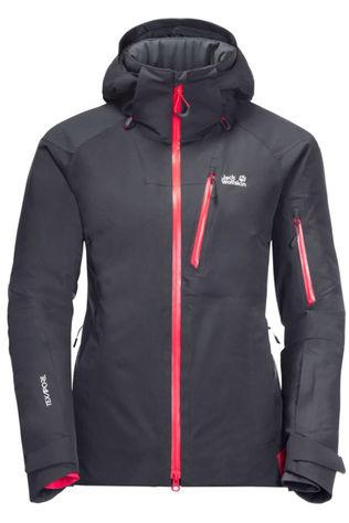 Jack Wolfskin Coat Snow Summit dark grey