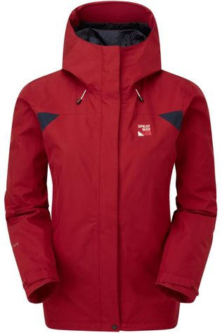 Sprayway Jas Reaction Long Rood/Donkerblauw