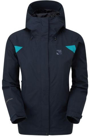 Sprayway Jas Reaction Long Donkerblauw/Lichtblauw
