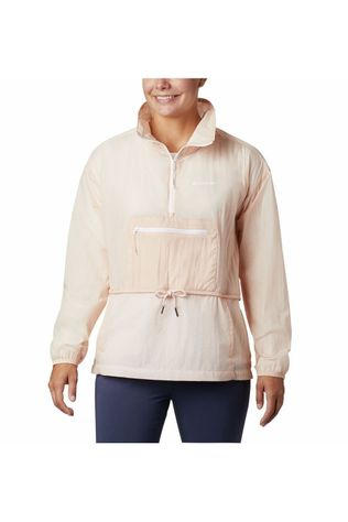 Columbia Waterproof Jacket Berg Lake Anorak salmon