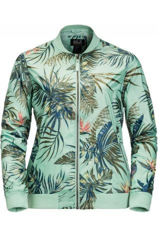 Jack Wolfskin Windstopper Tropical Blouson Lichtgroen/Ass. Bloem