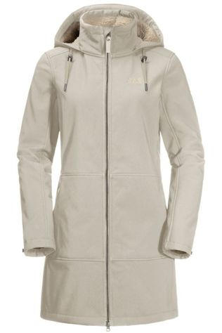 Jack Wolfskin Softshell Windy Valley Ecru