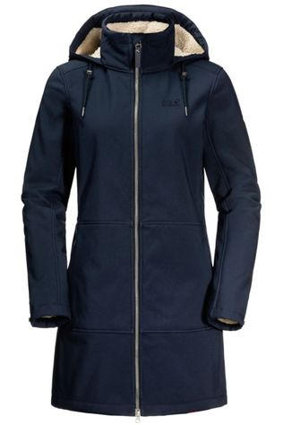 Jack Wolfskin Softshell Windy Valley Marineblauw