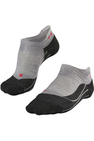 Falke Sock Tk5 Invisilble Wms light grey/black