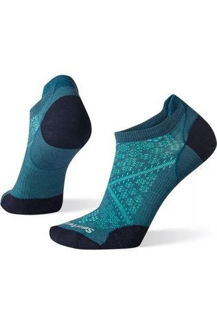 Smartwool Chaussette PhD Run Ultra Light Micro Bleu Pétrole