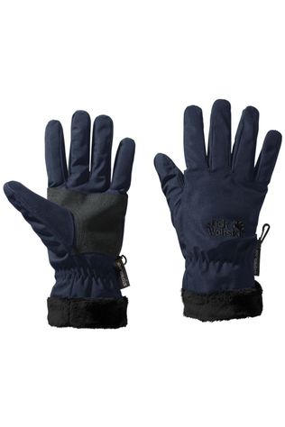Jack Wolfskin Glove Stormlock Highloft Navy Blue