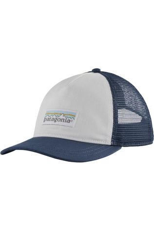 Patagonia Pet Pastel P-6 Label Trucker Wit/Blauw