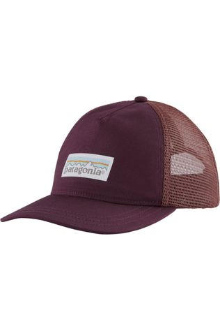Patagonia Pet Pastel P-6 Label Trucker Bordeaux / Kastanjebruin
