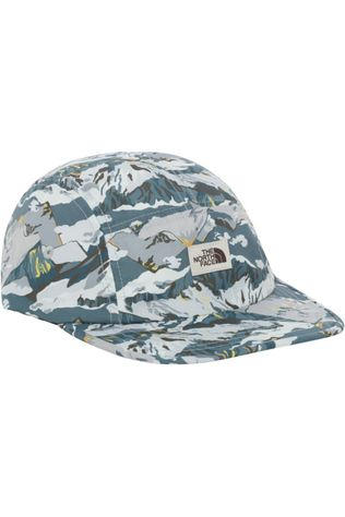 The North Face Pet Liberty 5 Panel Wit/Lichtgrijs