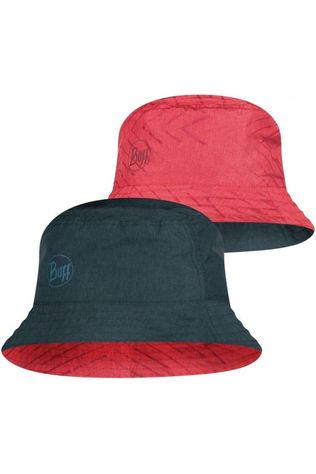 Buff Hat Travel Bucket light red/dark grey