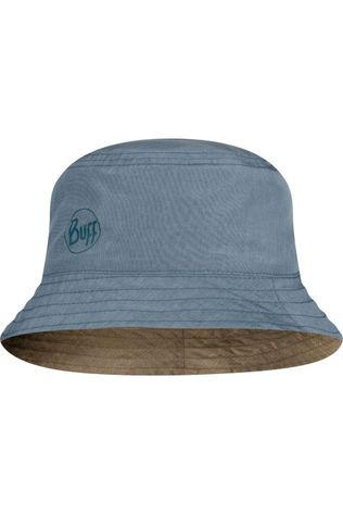 Buff Chapeau Travel Bucket Hat Zadok Blue Olive Bleu Clair/Kaki Moyen