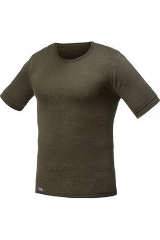 Woolpower T-Shirt 200 (unisex baselayer) Donkergroen