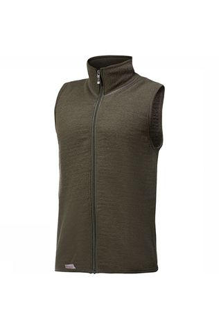 Woolpower Pullover 400 (unisex midlayer) dark green