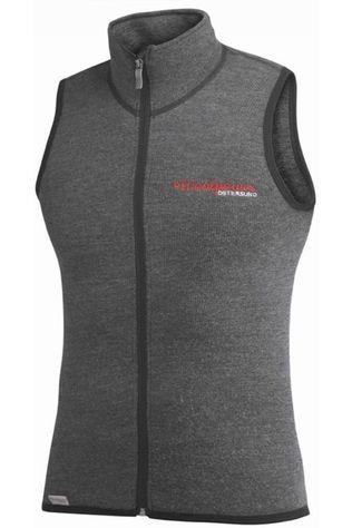 Woolpower Pullover 400 (unisex midlayer) mid grey/light grey