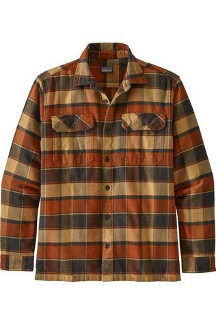 Patagonia Shirt Fjord Flannel Dark Yellow/Assorted / Mixed